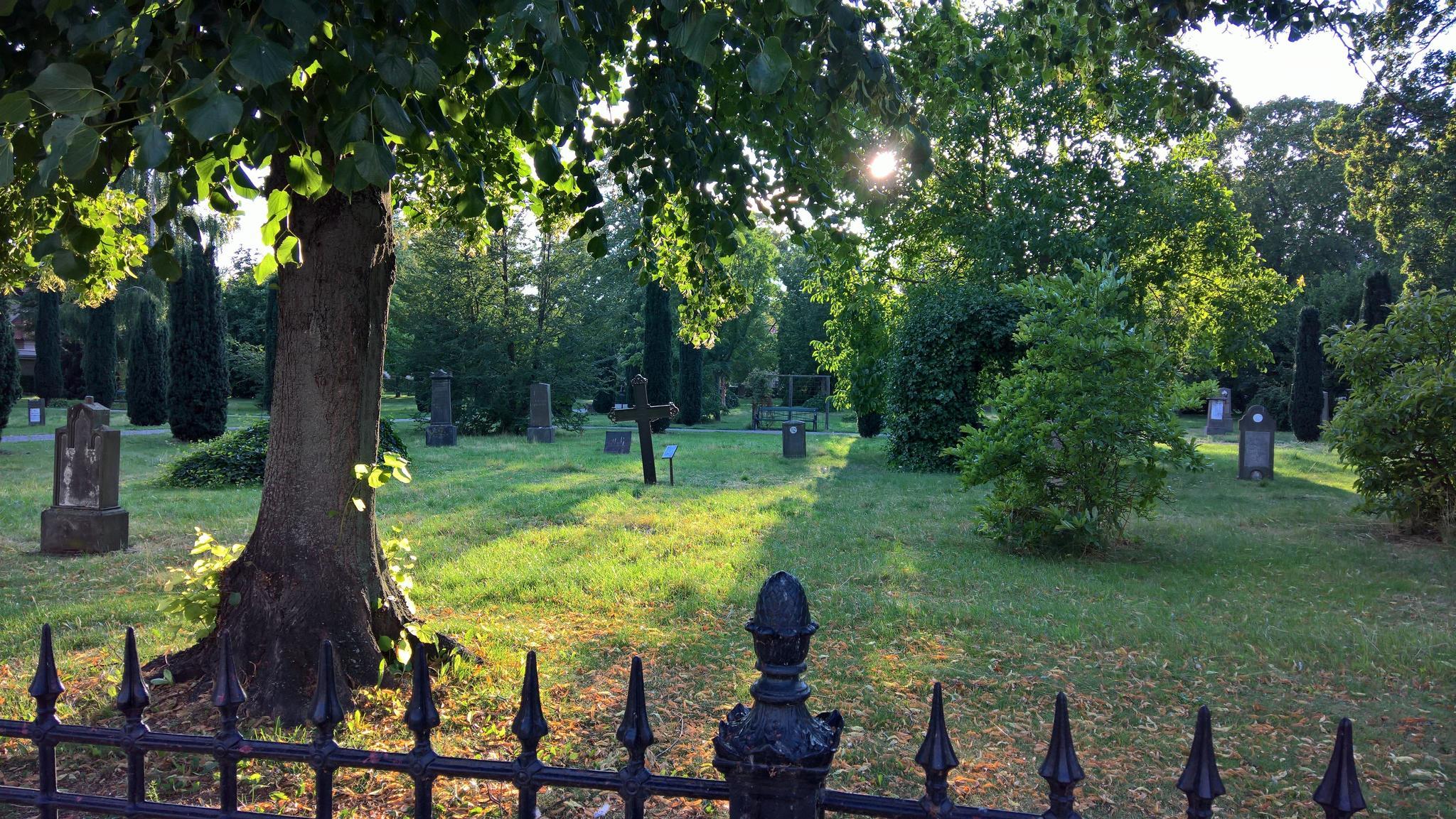 Parkähnlicher Friedhof