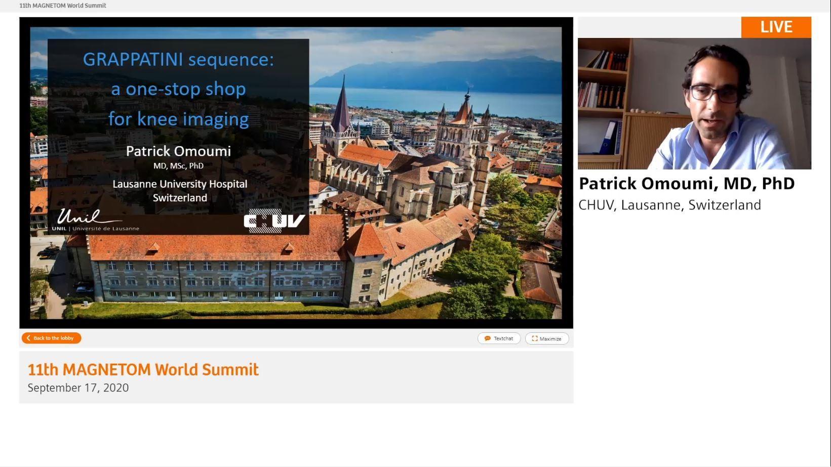 Preview Clinical Talk Patrick Omoumi