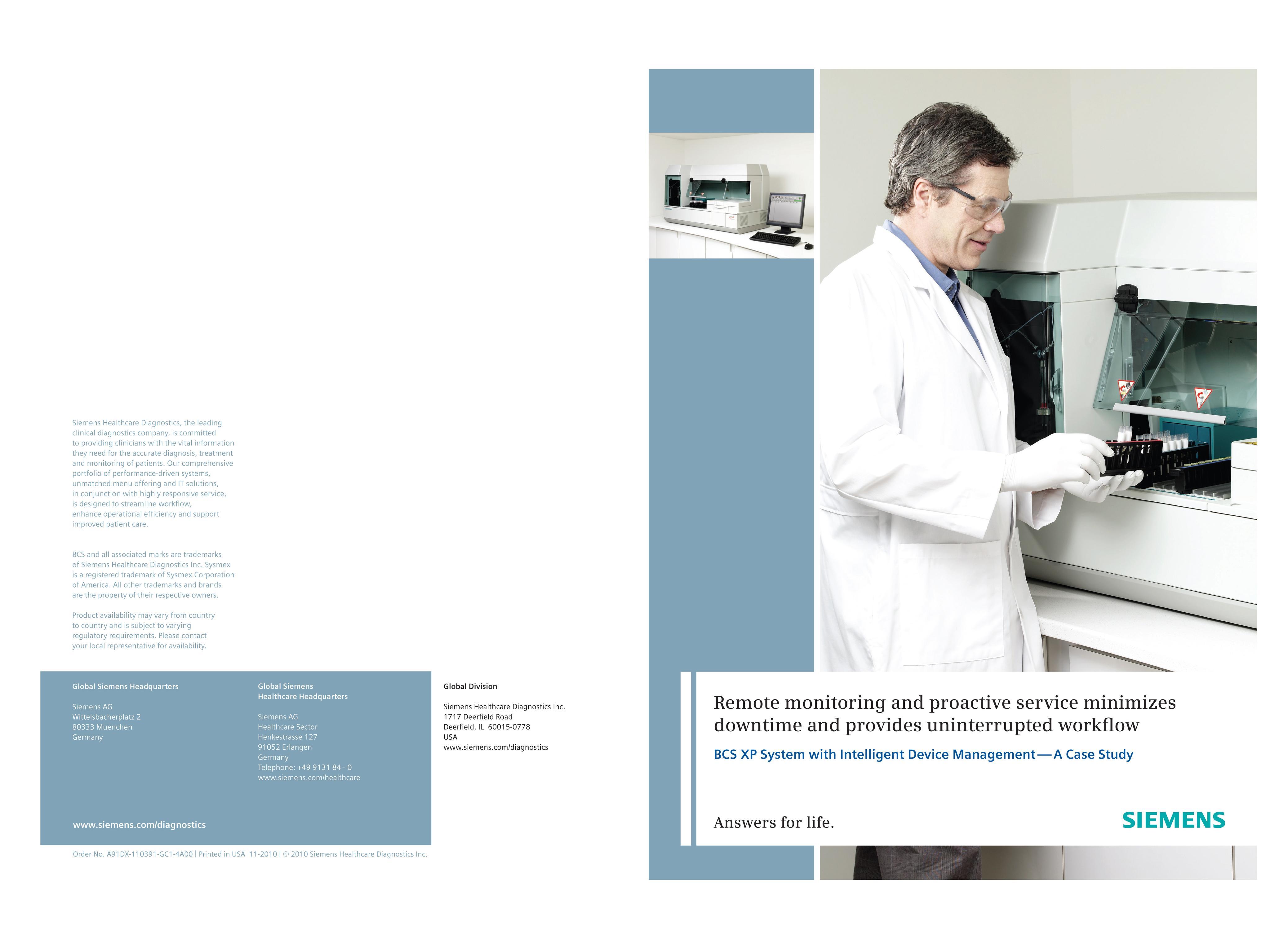 BCS XP System with Intelligent Device Management