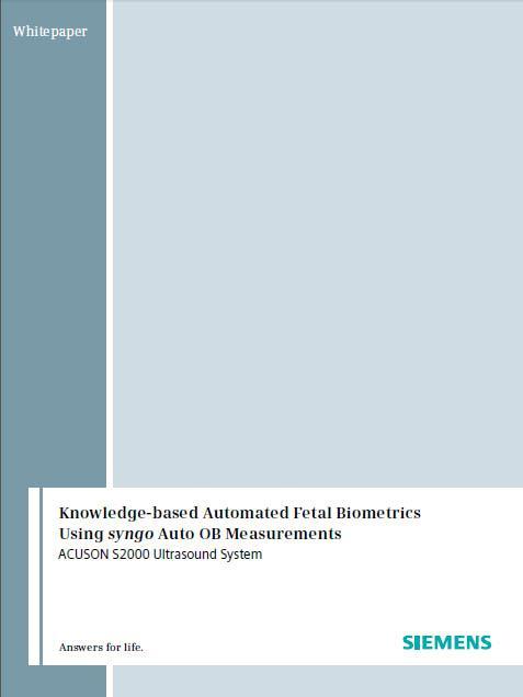 Knowledge-based Automated Fetal Biometrics