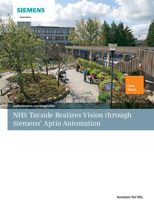 NHS Tayside Realizes Vision through Siemens' Aptio Automation