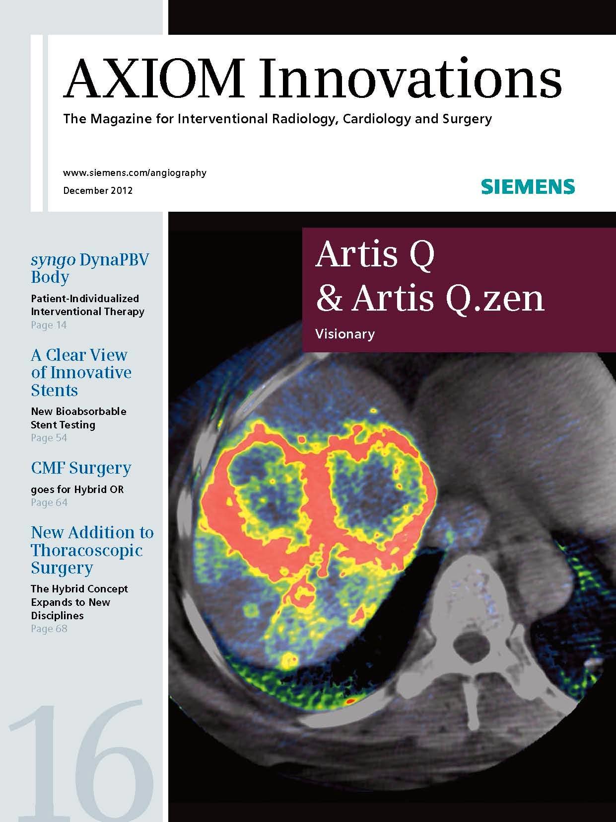 AXIOM Innovations – RSNA Edition December 2012