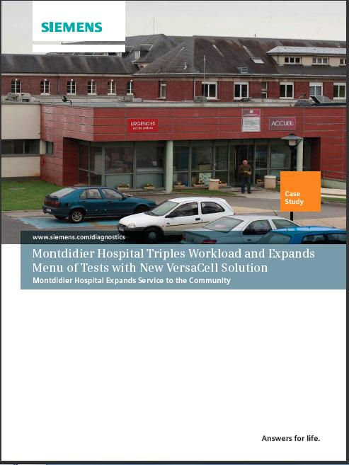 Montdidier Hospital Triples Workload and Expands Menu of Tests with New VersaCell Solution