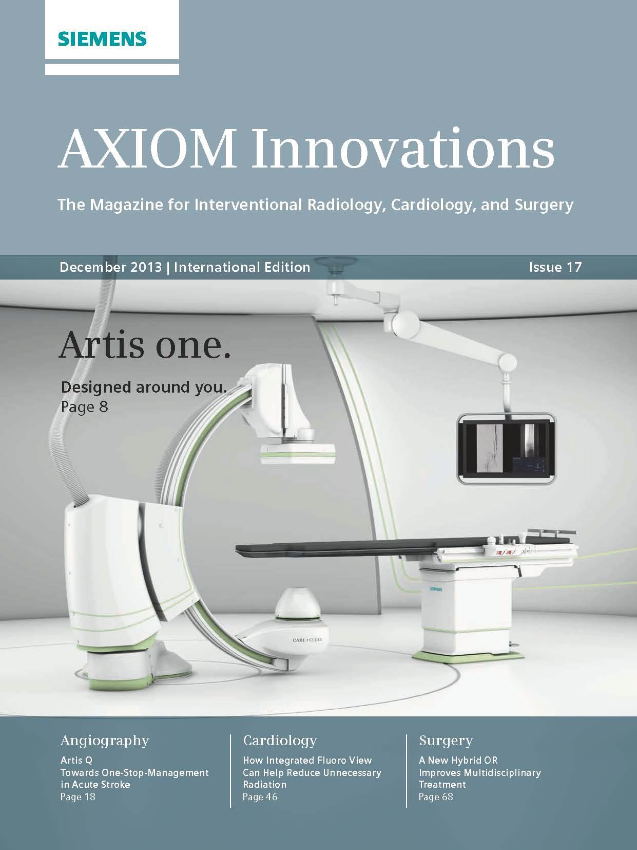 AXIOM Innovations – RSNA Edition December 2013