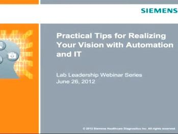 Practical Tips for Realizing Your Vision with Automation and IT