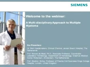 A Multi-disciplinary Approach to Multiple Myeloma
