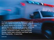 Rush Hour: The race against time to diagnose ACS at St. David's South Austin Hospital