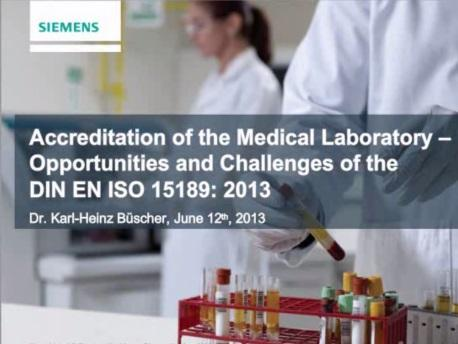 Accreditation of the Medical Laboratory Image
