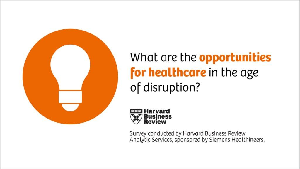78% of healthcare decision makers see tremendous opportunities in the healthcare transformation.