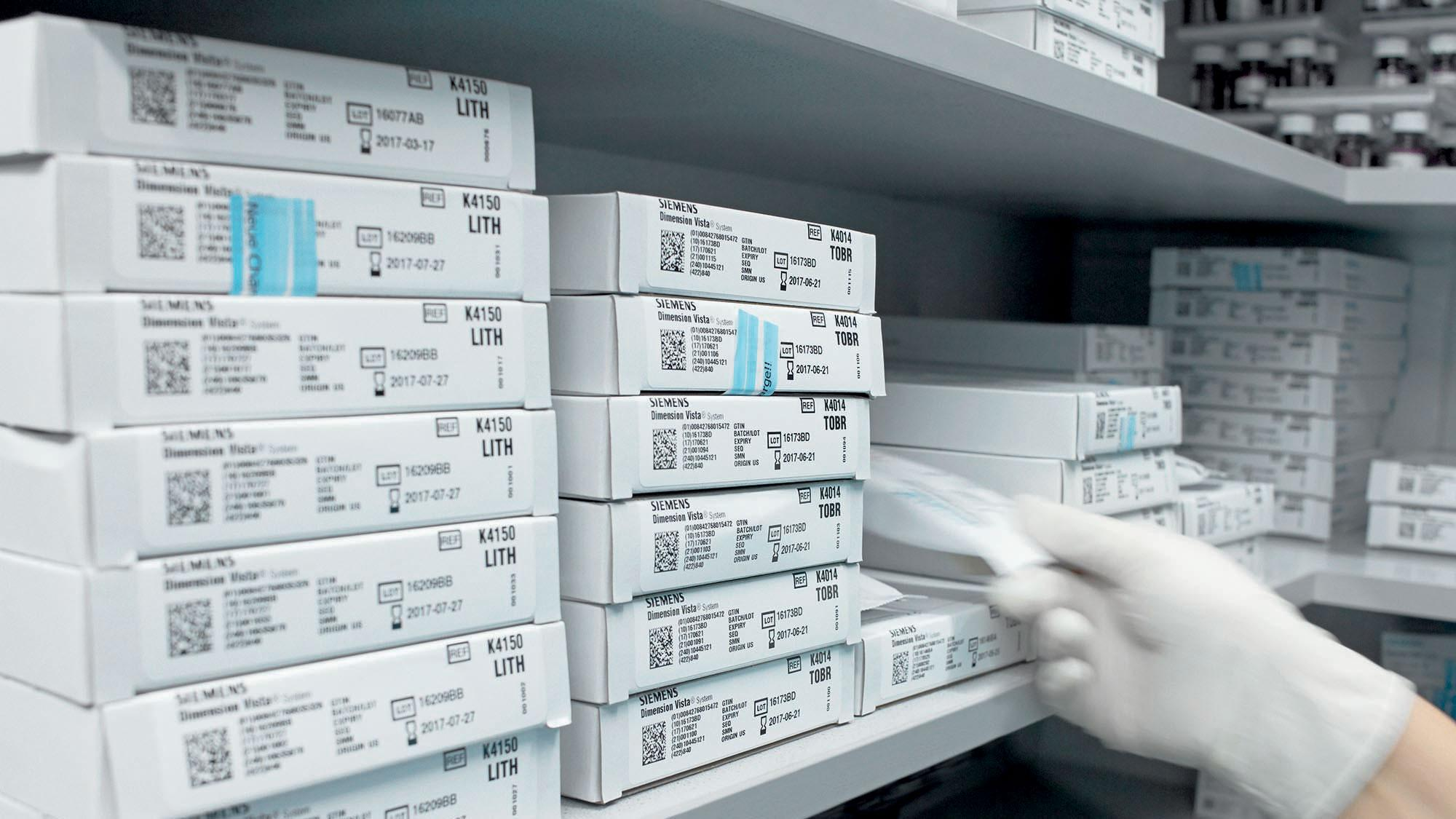 By implementing a laboratory inventory management system, Klinikum Frankfurt Höchst streamlined its supply management.
