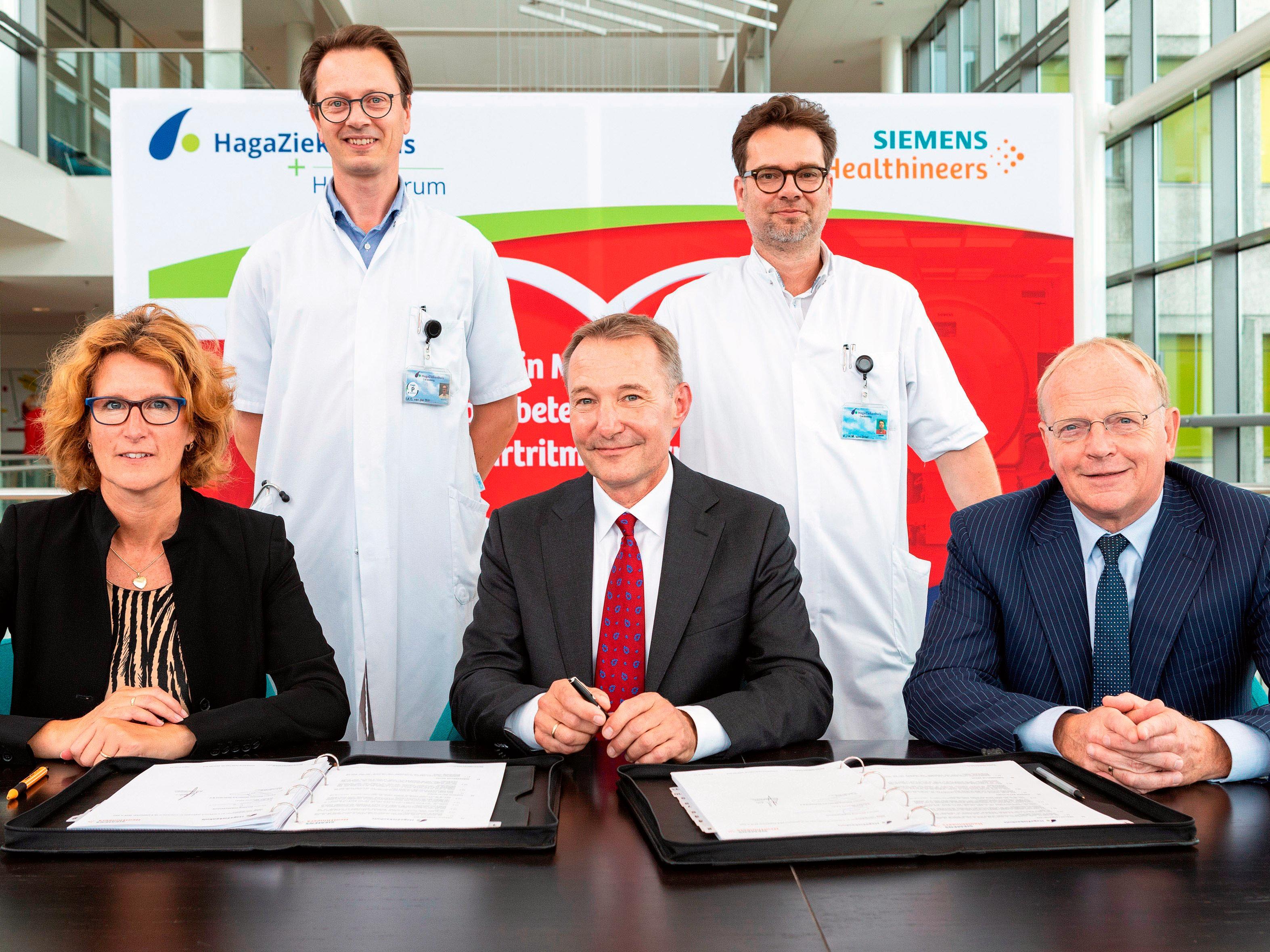 Samenwerkingsovereenkomst Siemens Healthineers en HagaHartcentrum