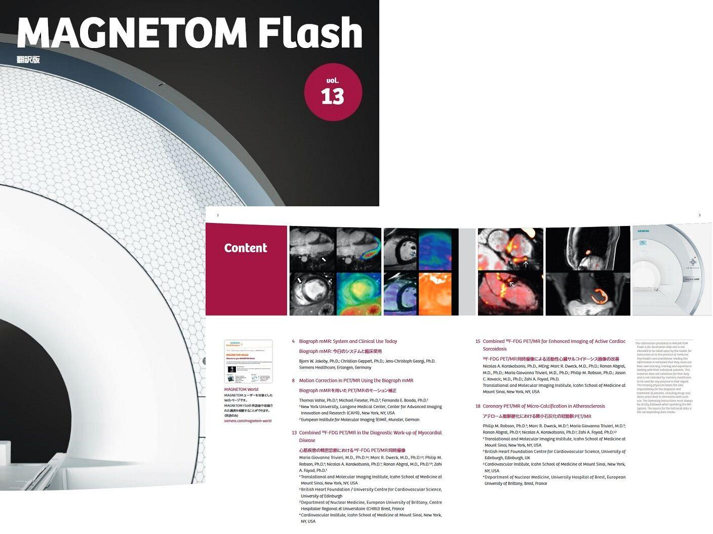 MAGNETOM Flash Vol.13
