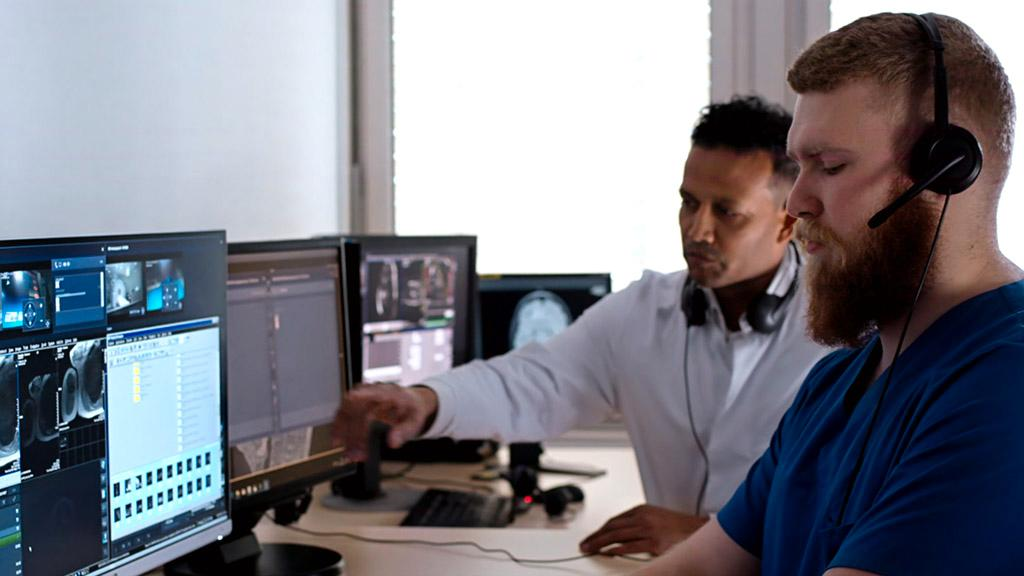 Radiology technologists at University Hospital in Essen can now operate up to three scanners at the same time thanks to a remote scanning concept.
