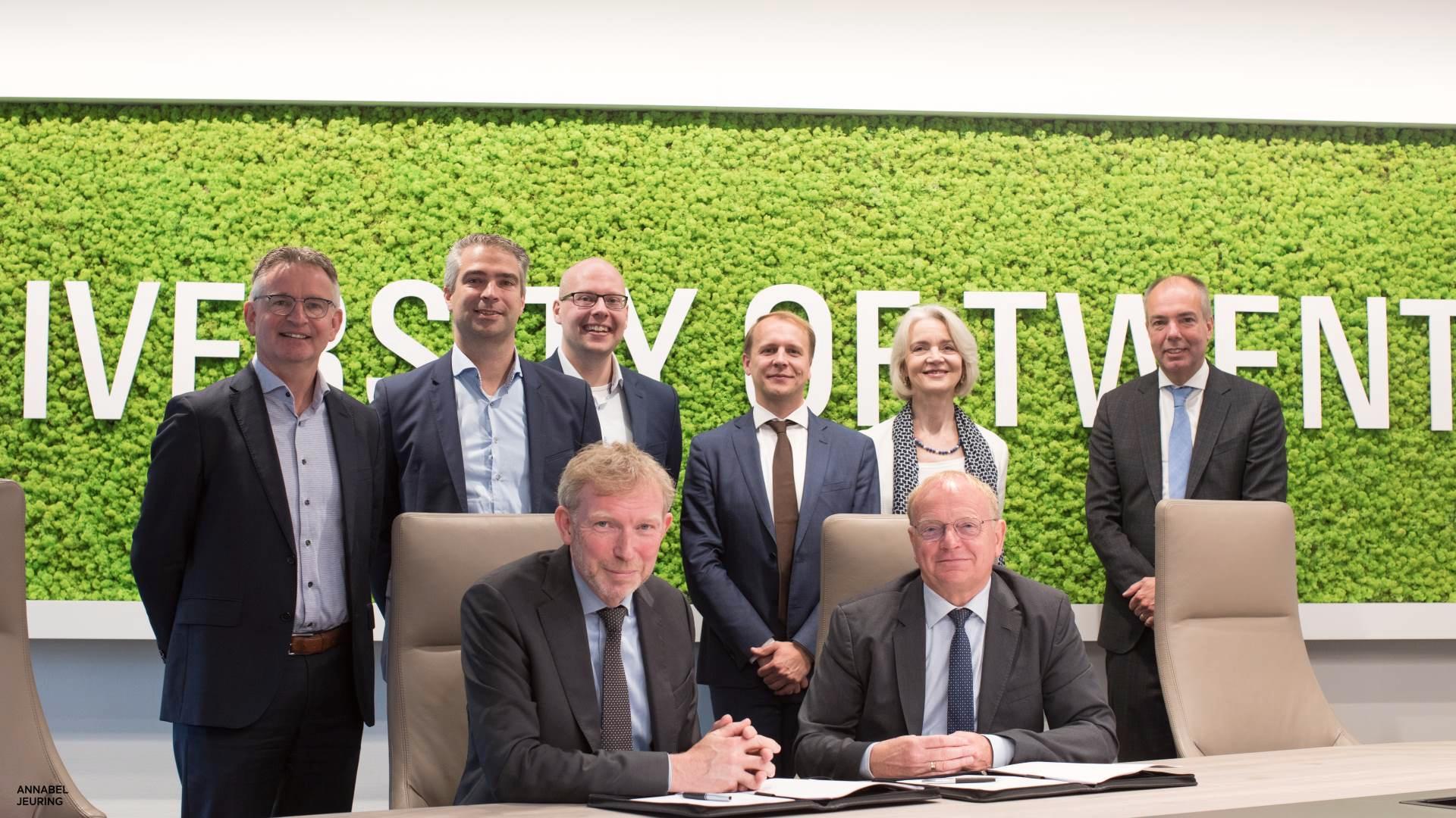 Universiteit Twente en Siemens Healthineers starten uniek research- en educatieprogramma binnen Technisch Medisch Centrum