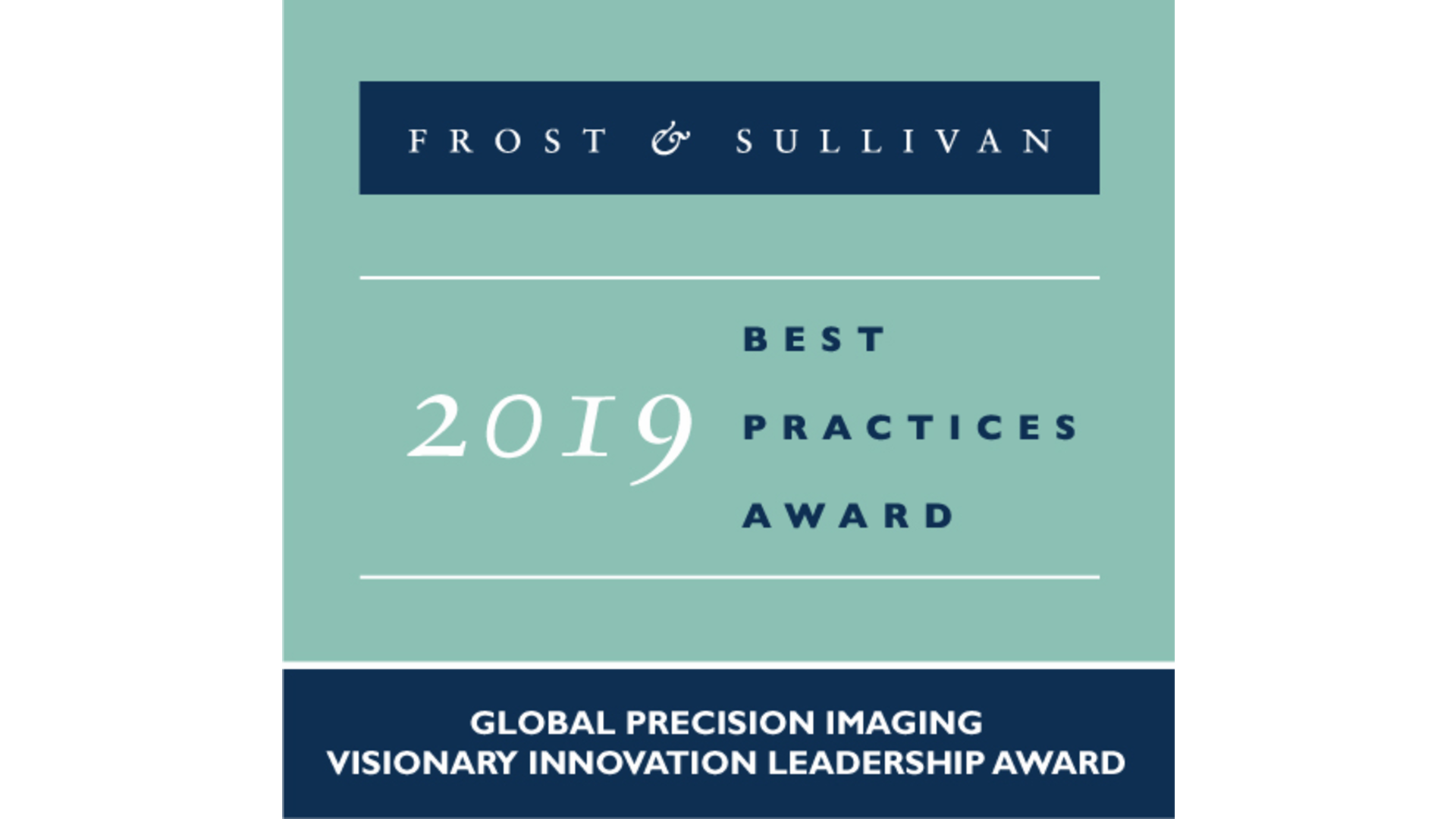 Frost & Sullivan Global Visionary Innovation Leadership Award 2019 Logo