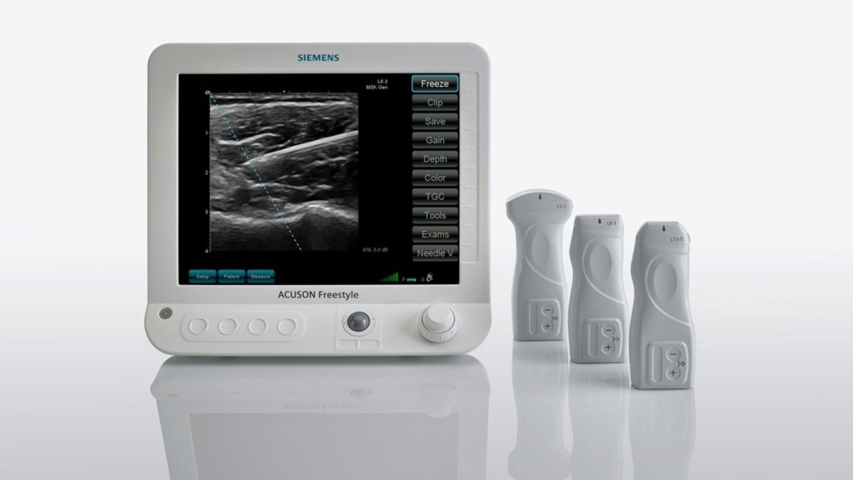 Wireless Ultrasound Transducers   ACUSON Freestyle