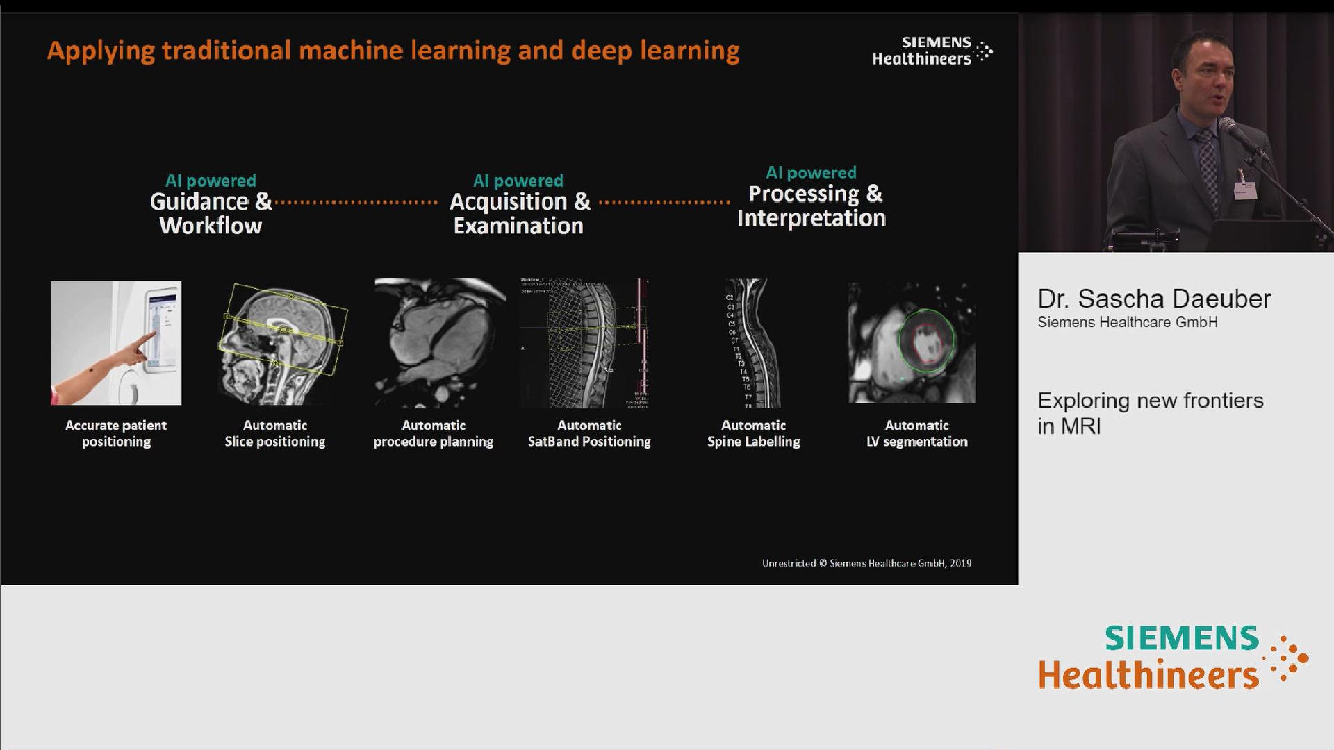 Exploring New Frontiers in MRI