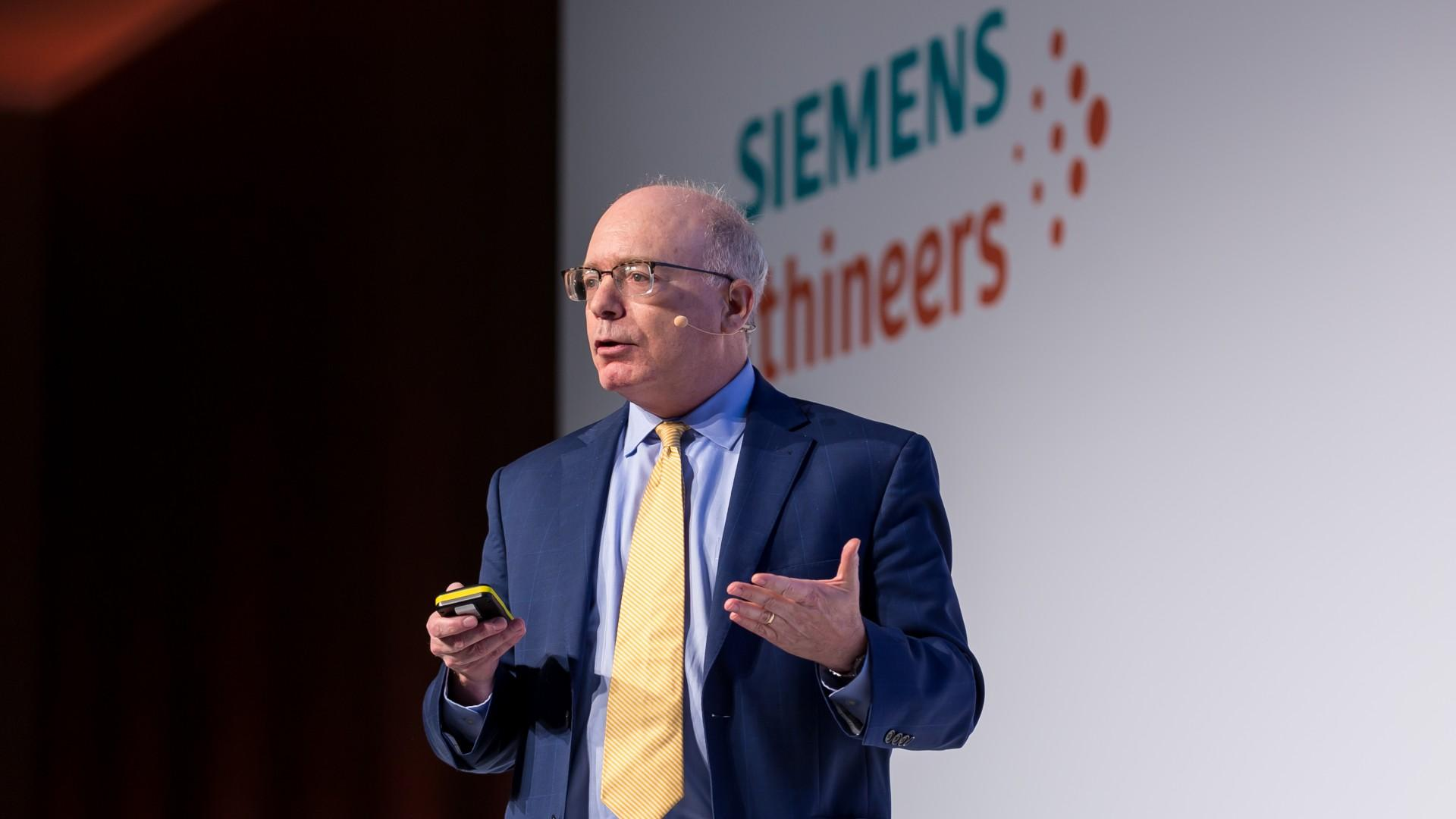 David Asch at the Siemens Healthineers Executive Summit 2019 in Amsterdam