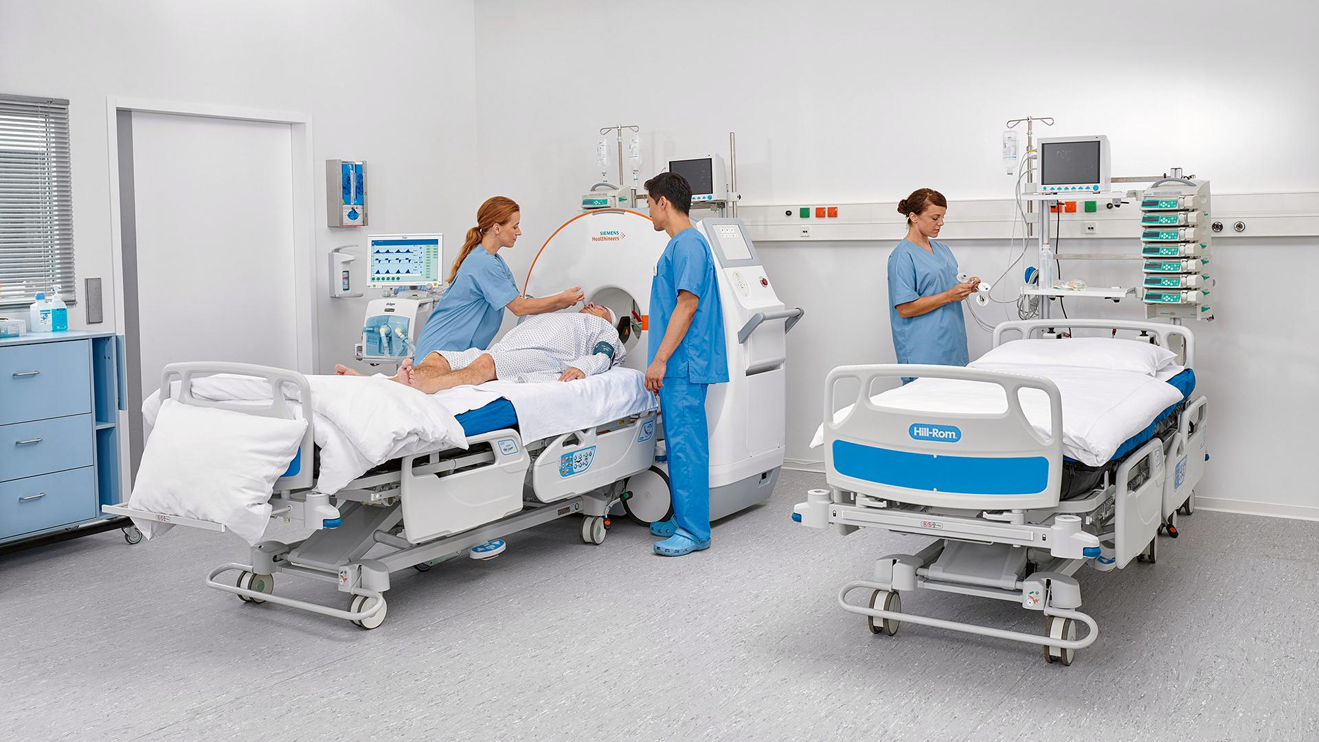 CT scanning in the ICU can reduce transportation risks.