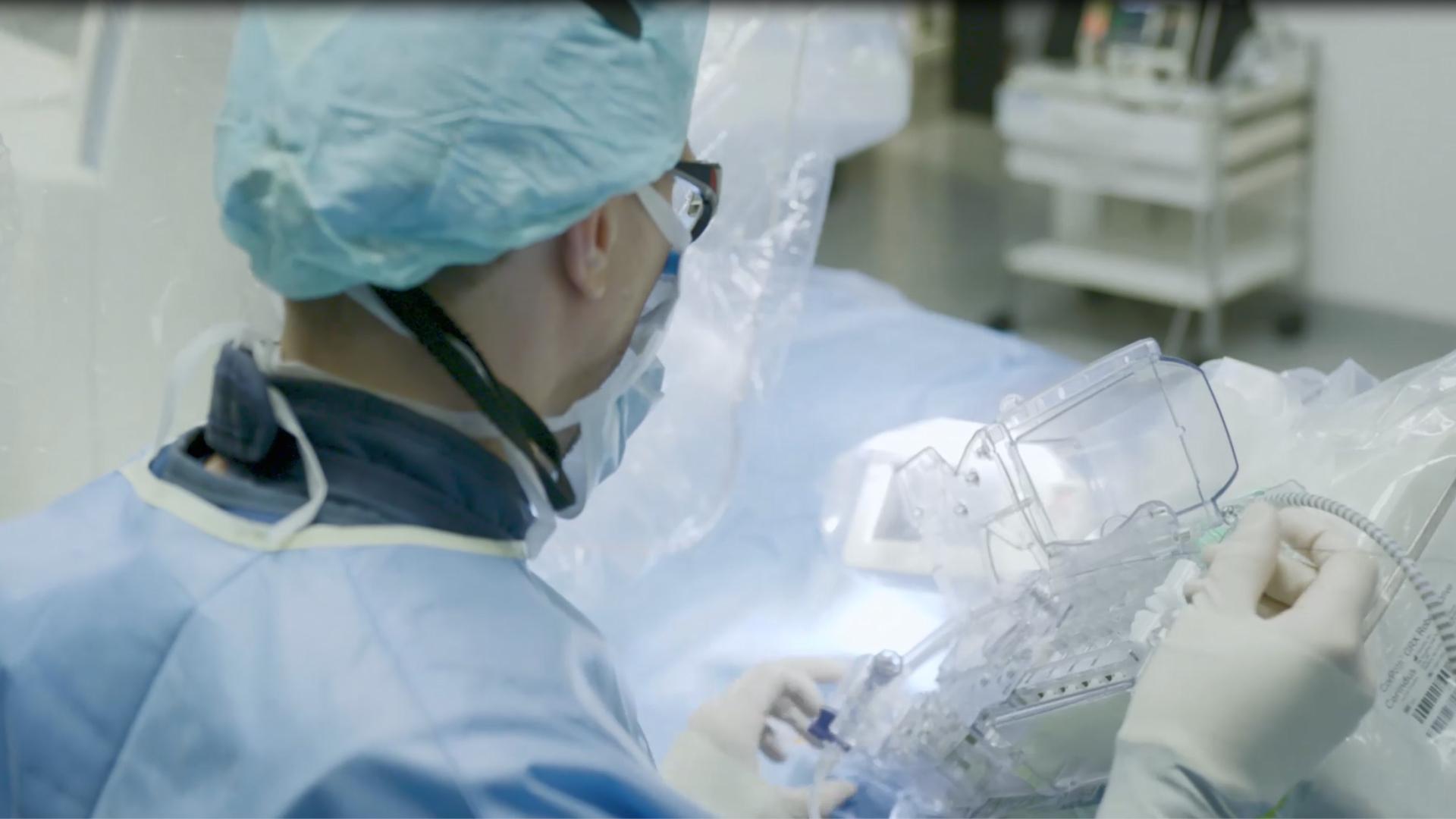 TV footage – University Hospital Giessen