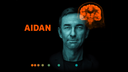 AIDAN platform logo with patient-focused design, artificial intelligence, and digital hardware.