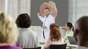 Clinical expert providing a workshop