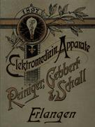 Company catalog from Reiniger, Gebbert & Schall from the year 1897