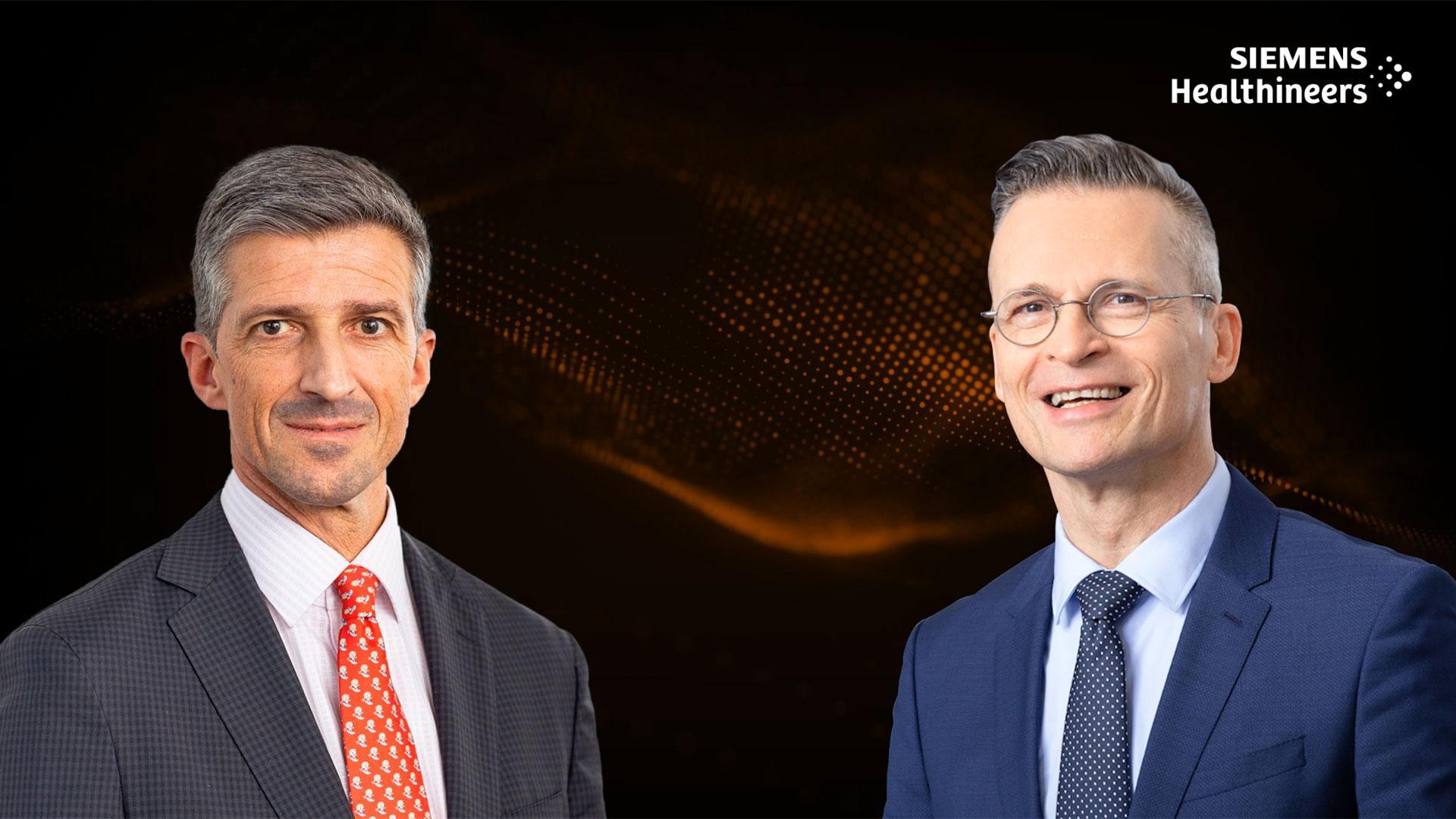 In this podcast, Frederik Wenz (l.) and Christoph Zindel discuss digital and planning strategies that have gained in importance during the crisis