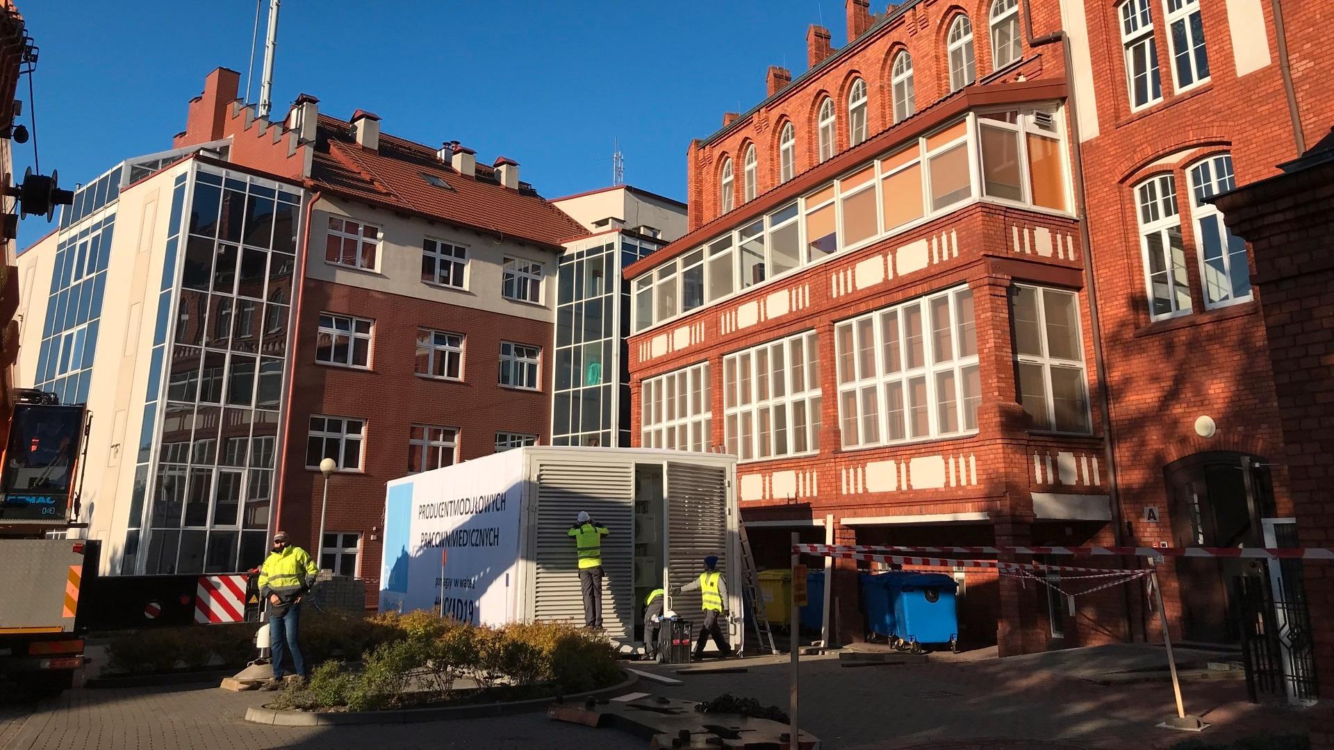 Czwarta kontenerowa pracownia CT zainstalowana przez Siemens Healthineers