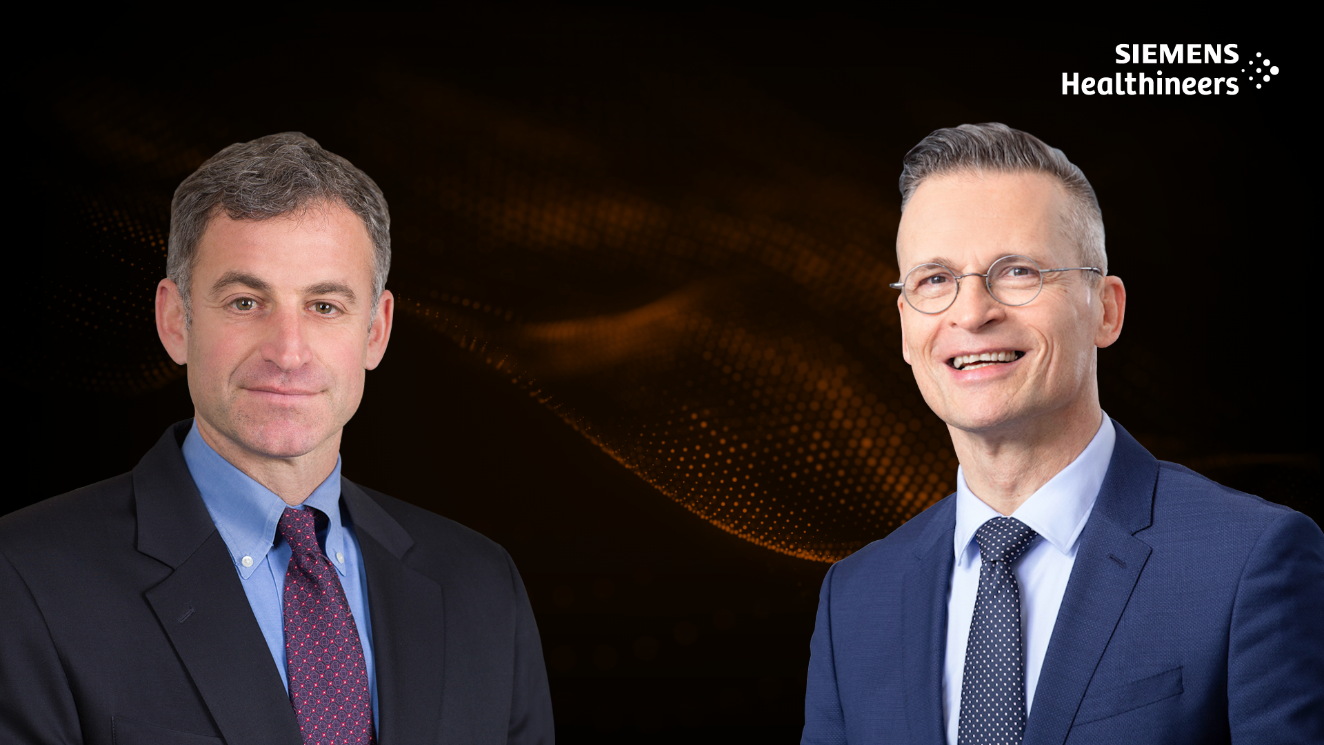 In this podcast, Howard B. Chrisman (l.) and Christoph Zindel discuss why healthcare systems will be stronger after the crisis