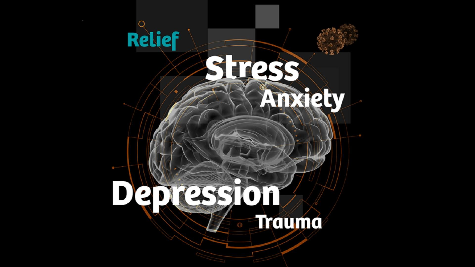 Cover picture on how to manage caregiver stress and trauma in the COVID-19 era.