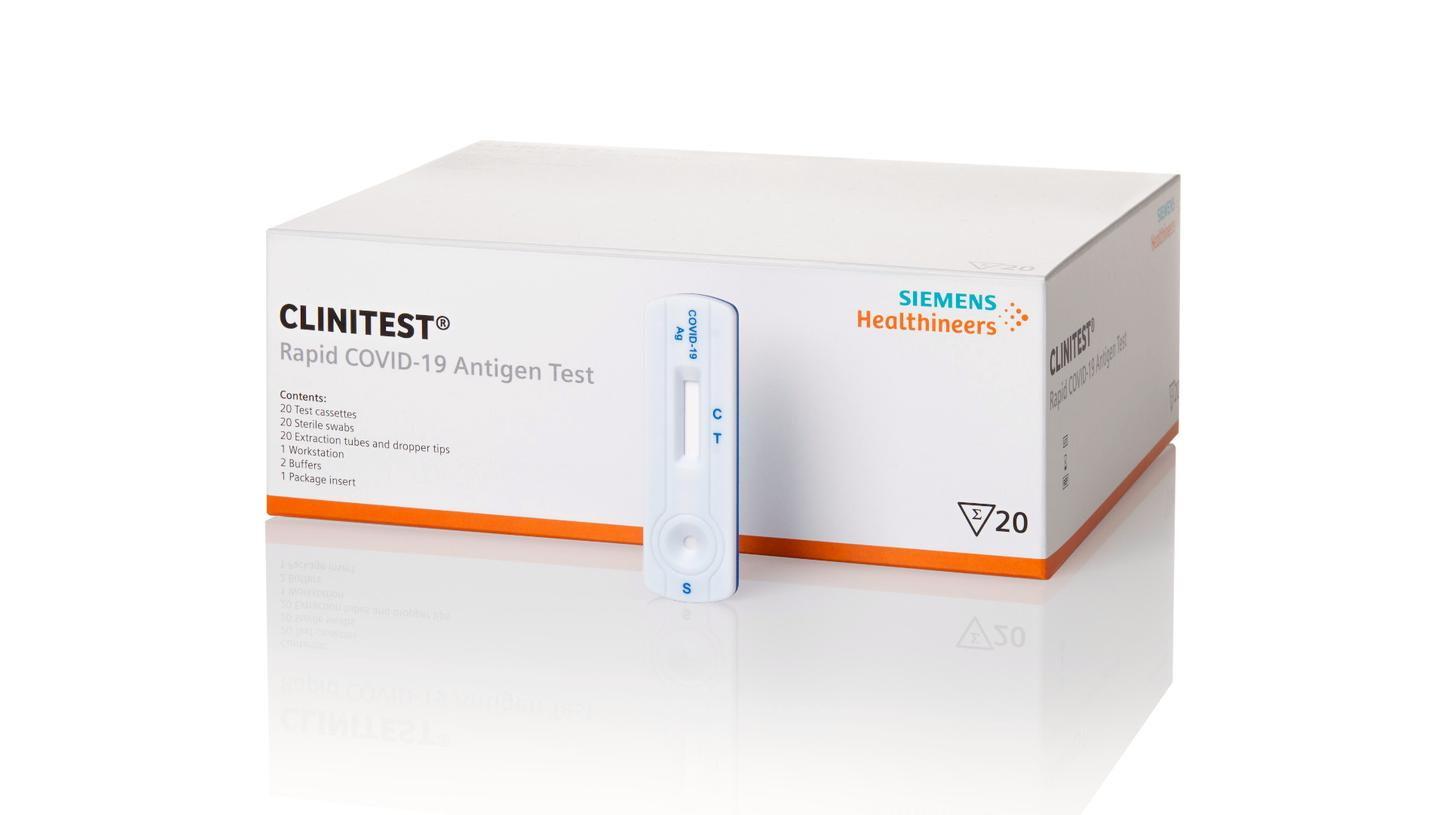 Siemens Healthineers Launches Rapid Antigen Test for the Detection of SARS -CoV-2