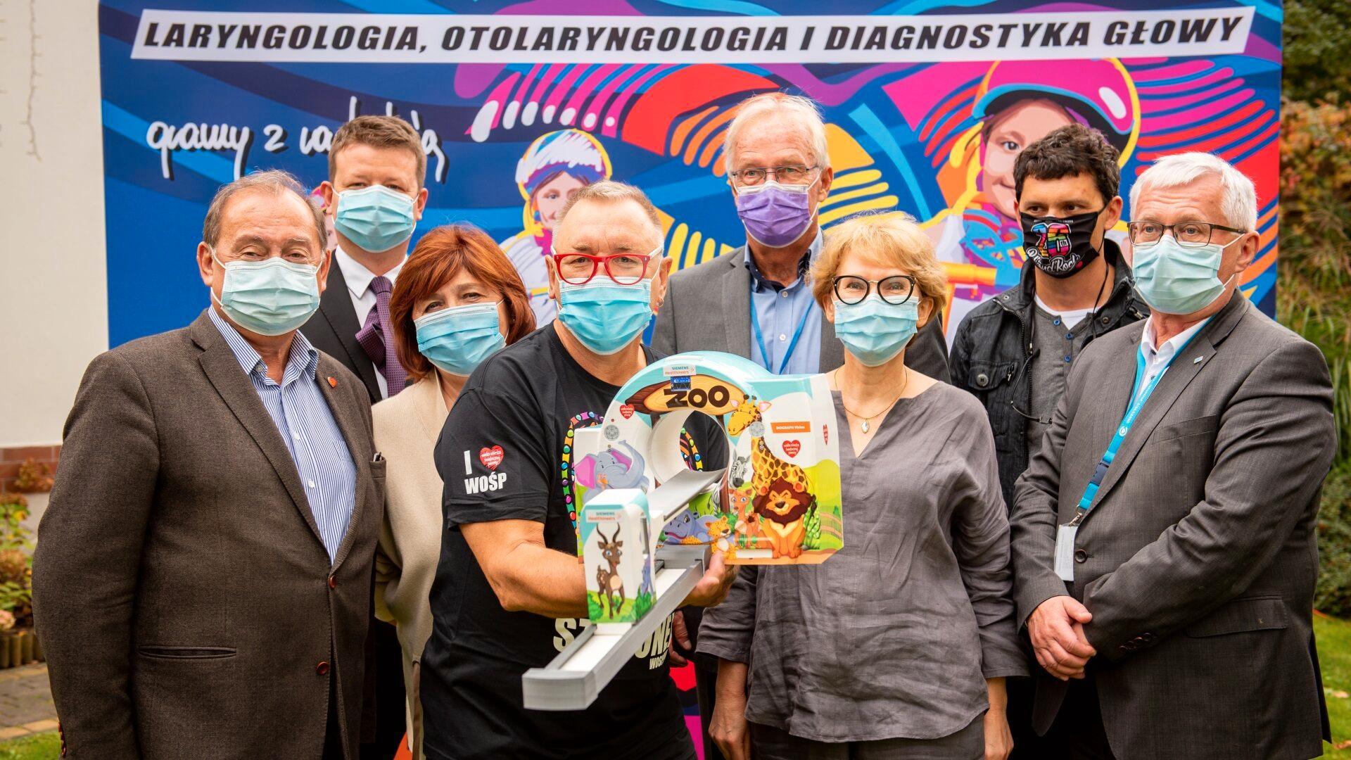 WOŚP wybiera PET/CT Biograph Vision 600 dla Centrum Zdrowia Dziecka