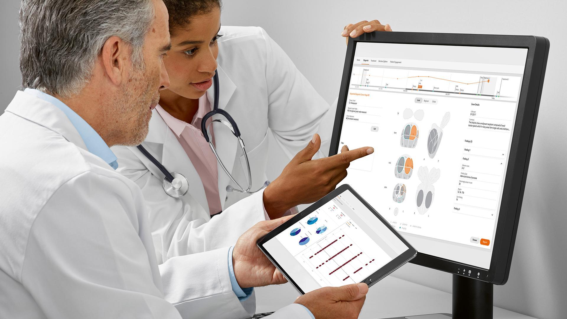 Comment l'IA contribue-t-elle à placer le patient au centre du traitement du cancer de la prostate ?