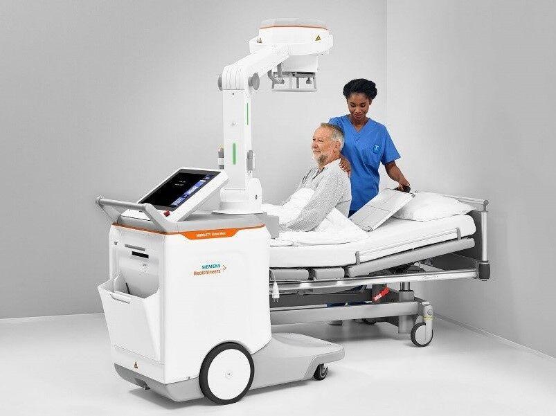 지멘스 헬시니어스, 이동식 X-ray 촬영 시스템 '모빌렛 엘라라 맥스'로 환자 안전 강화