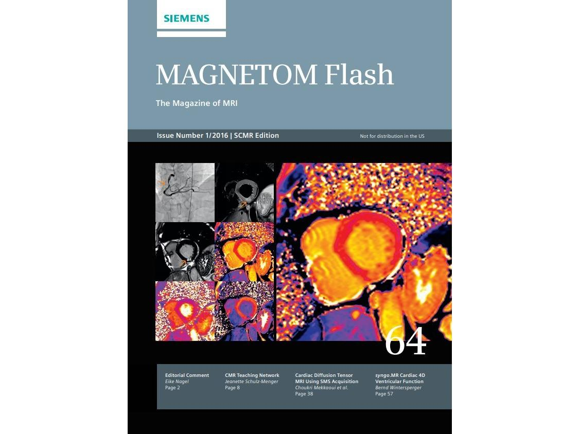 MAGNETOM Flash – SCMR Edition – Issue 64
