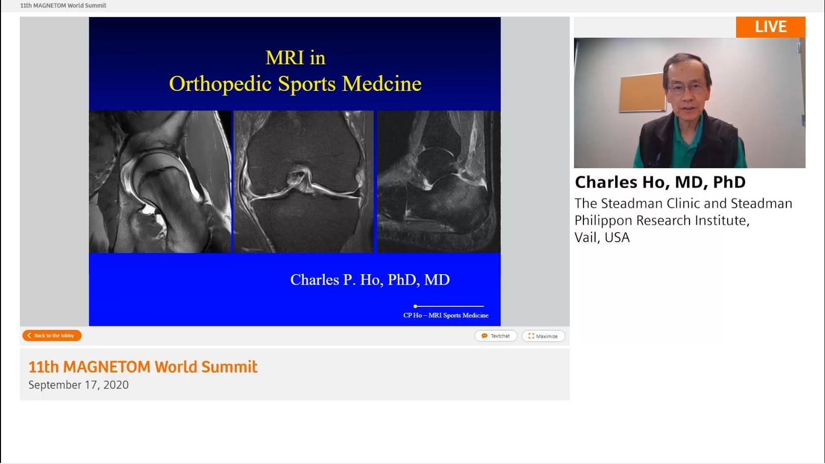 Preview Clinical Talk Charles Ho