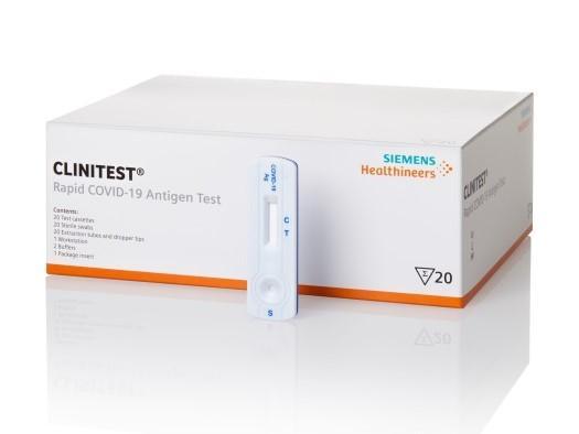 Siemens Healthineers heeft CE-markering verkregen voor haar CLINITEST Rapid COVID-19 antigeentest (sneltest) met betrekking tot monsterafname in het voorste gedeelte van de neus. Dit heeft belangrijke voordelen voor patiënt en zorgverlener.