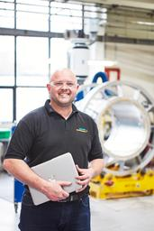 Craig Hillier, Manufacturing Manager at Siemens Healthineers, Magnet Technology facility in Oxford