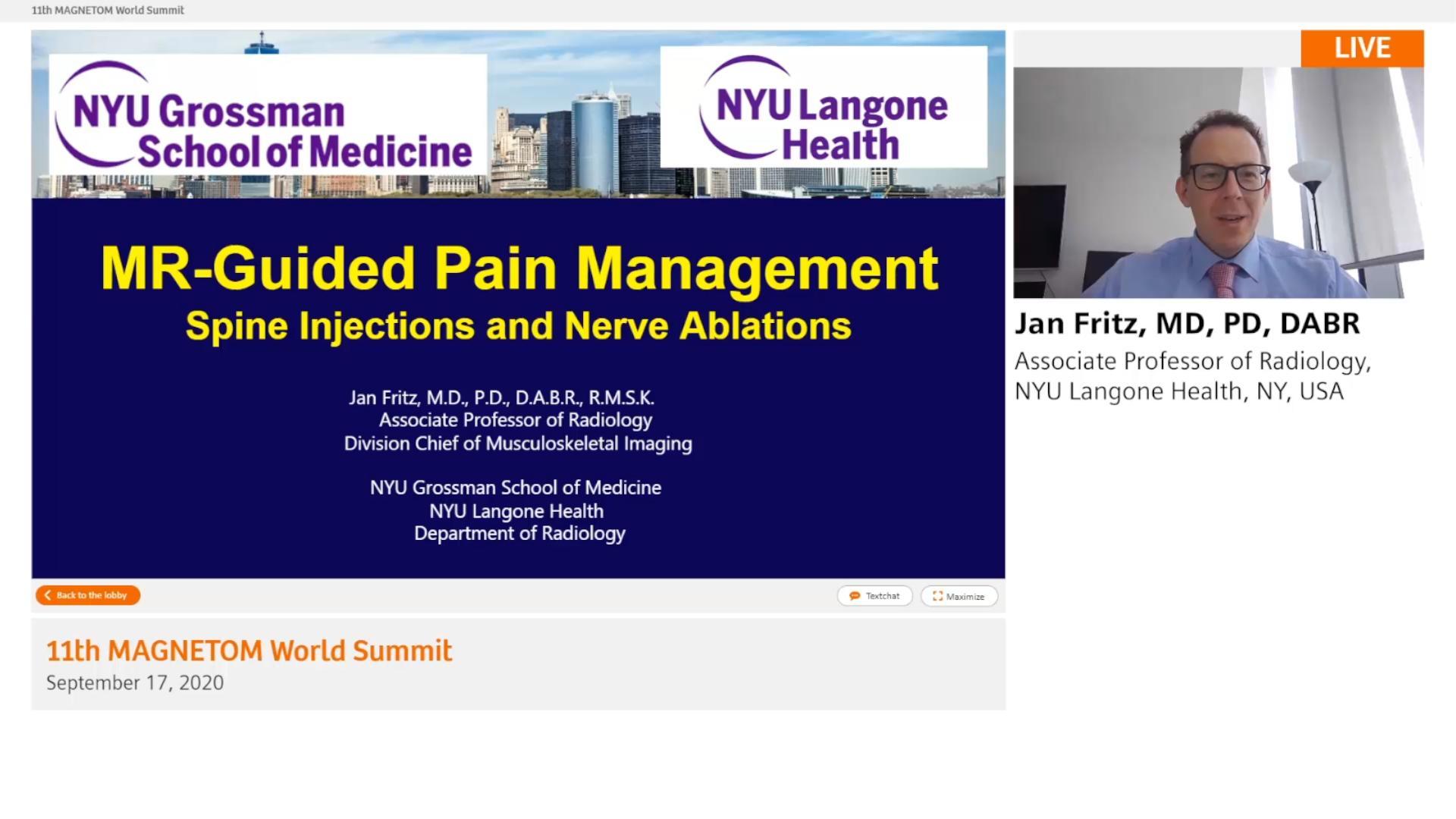Preview Clinical Talk Jan Fritz