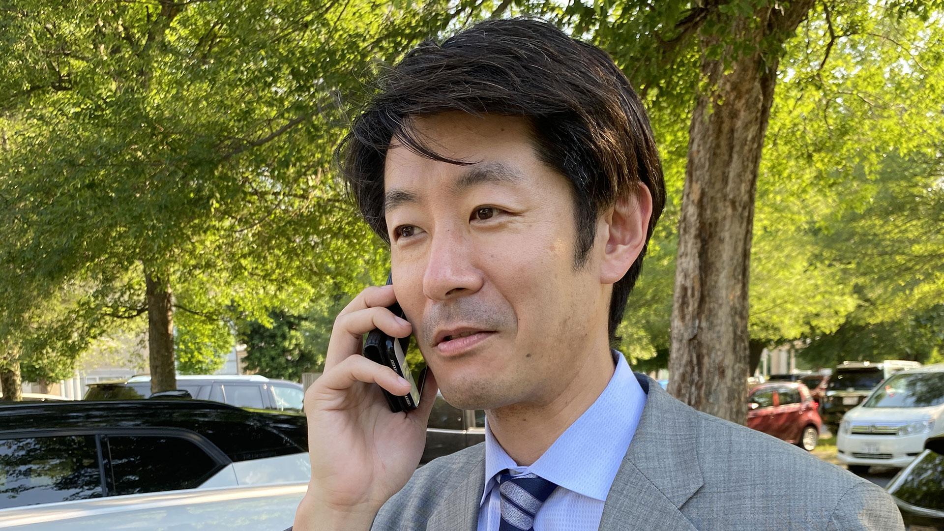 西山永峰さん