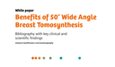 Benefits of Breast Tomosynthesis - Bibliography of Key Findings