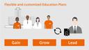 Infographic Education Plans
