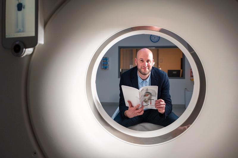 Ronald Booij eerste radiodiagnostisch laborant in Nederland met doctoraat