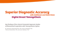 Superior Diagnostic Accuracy with Digital Breast Tomosynthesis White Paper