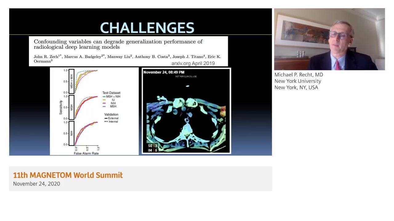 Preview Clinical Talk Michael P. Recht