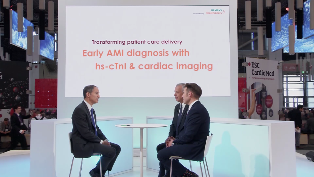 Video: Early AMI Diagnosis with hs-cTnl & Cardiac Imaging