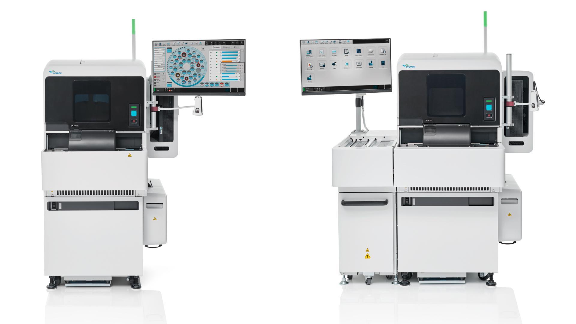 Siemens Healthineers startet den Vertrieb der Sysmex Hämostase-Systeme CN-3000 und CN-6000