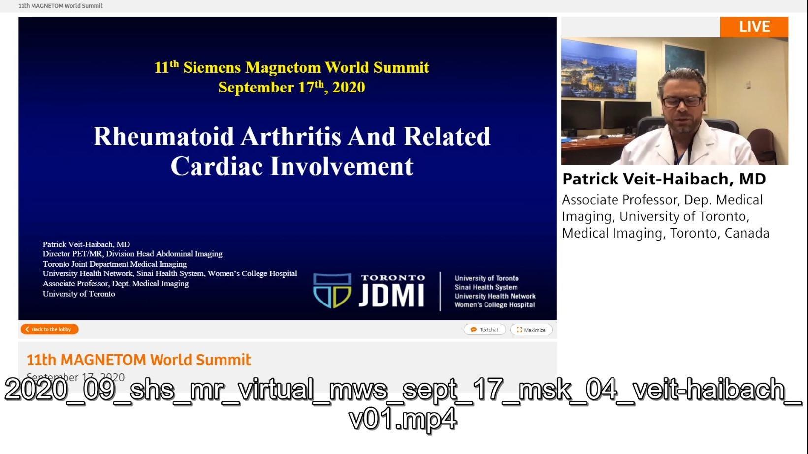 Preview Clinical Talk Patrick Veit-Haibach