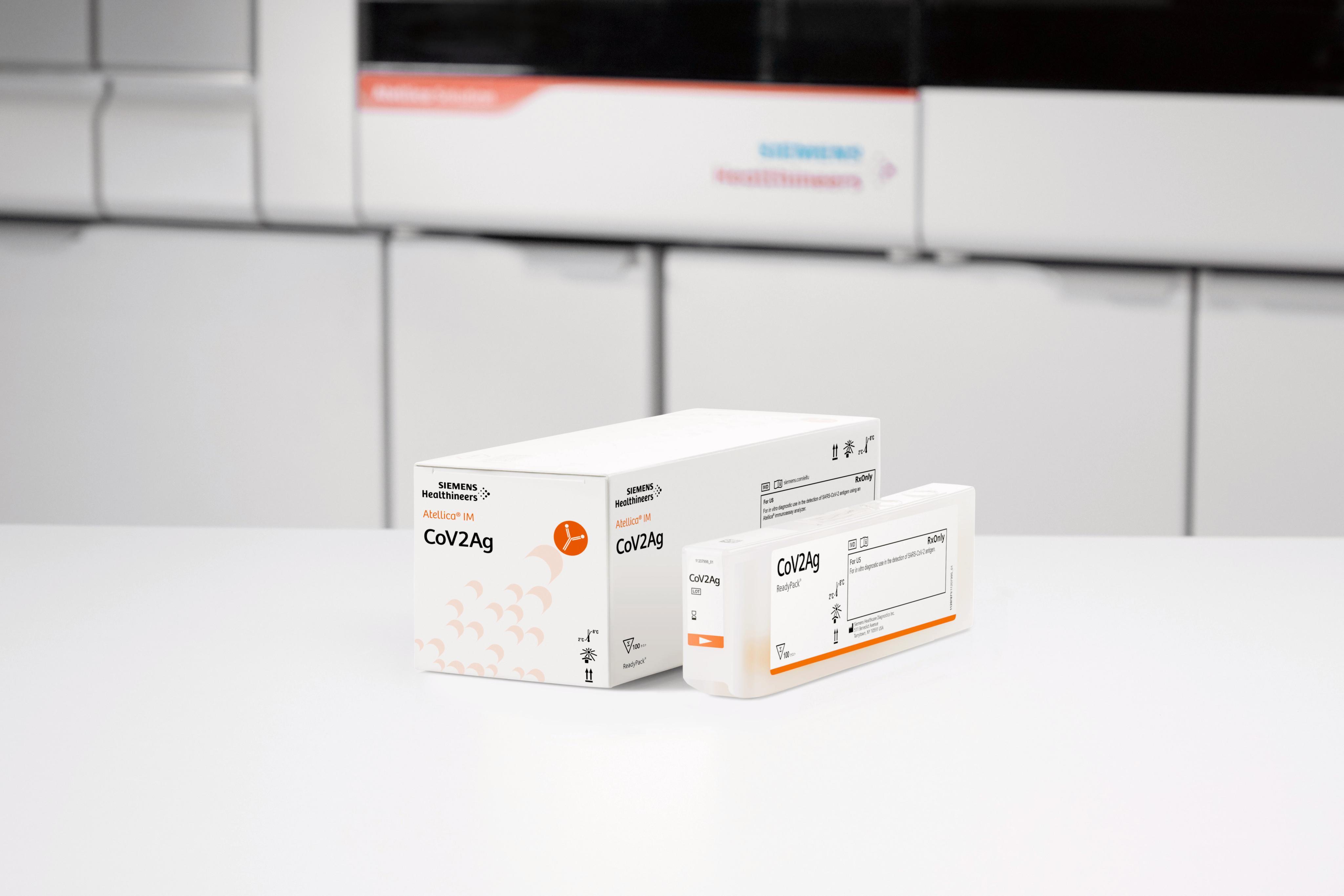 Siemens Healthineers hat die CE Zertifizierung für den SARS-CoV-2-Antigentest (CoV2Ag) für den Laborgebrauch erhalten.